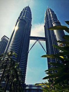 Malaysia Kuala Lumpur Petronas Twin Towers.