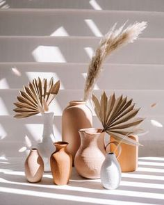 Deco Boheme, Home And Deco, Vases Decor, Dried Flowers, Flowers Vase, Decoration, Terracotta, Earthy, Home Accessories