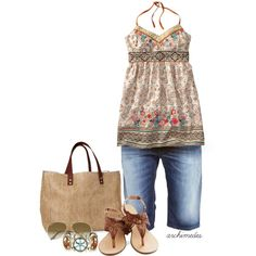 """Summer Peace"" by archimedes16 on Polyvore"