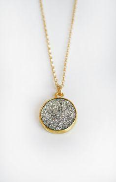 DRUZY coin necklace