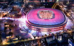 En images : les plans du futur Camp Nou dévoilés !  #CampNou #Barca #FcBarcelona #football #foot #soccer #sport
