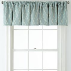 jcp | JCPenney Home™ Hamilton Rod-Pocket/Back-Tab Tailored Valance