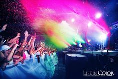 Life in Color: The Worlds Largest Paint Party coming to the new Fluid Events Center in Champaign! Grab you tickets here   http://www.ticketfly.com/event/303661