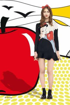 RED Valentino Fall 2014: Pop Art Disney Snow White