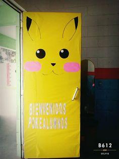 Puerta Pikachu bienvenidos