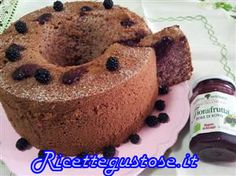 Ricetta chiffon cake alle more, ricette chiffon cake