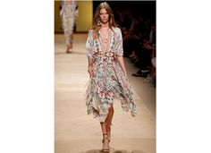 Etro Light and airy, these bohemian looks will be perfect for the warm weather.  Photo credit: Alessandro Garofalo