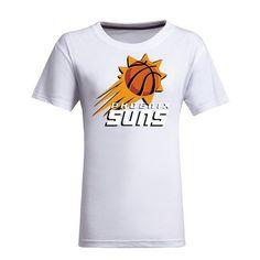 awesome NBA Phoenix Suns Women's Jersey T-Shirt (White)