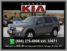 2011 Ford Escape XLT SUV  Premium Cloth Seat Upholstery, Floor Mats: Carpet Front And Rear, Power Remote Passenger Mirror Adjustment, Braking Assist,