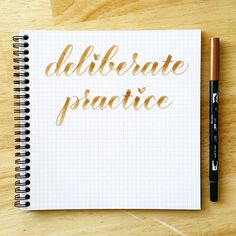 Improve your brush calligraphy by practicing these strokes | Calligraphy Practice, How To Write Calligraphy, Calligraphy Letters, Typography Letters, Caligraphy, Penmanship, Practice Cursive, Handwriting Fonts, Modern Calligraphy