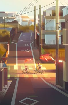 Cityscapes on Behance