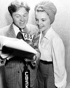 Mickey Rooney and Judy Garland