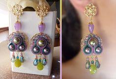Soutache Earrings - Serena Di Mercione Creations