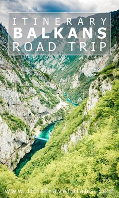 Balkans road trip itinerary - 3 weeks in Bosnia and Herzegovina, Montenegro and Albania