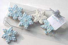 Snowflake Cookies, Snowflake Cookies by Rolling Pin Productions