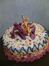 marmer cake purple