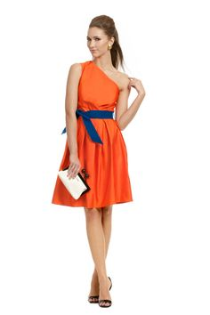 Like the dress but not sure I could get away with the color combo.