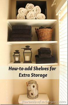 Small Bathroom Shelves