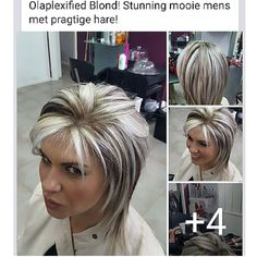 Hair Beauty - Inspiration-Get blown away by exciting OLAPLEX salon story from Chanel Venter, owner of Hair Rehab in Strand, Western Cape. Short Hair Styles Easy, Short Hair With Layers, Layered Hair, Short Hair Cuts, Medium Hair Styles, Brown Hair With Blonde Highlights, Hair Color Highlights, Dramatic Highlights, Flicks Hair