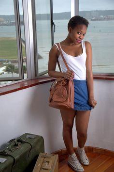 KOTINI Denim Skirt, Skirts, Fashion, Moda, Fashion Styles, Skirt, Fashion Illustrations, Jean Skirt