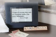 game night signs
