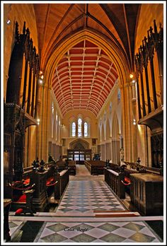 Inside St Patrick's Church of Ireland Cathedral, Armagh, Co. Armagh