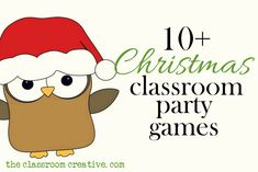 Christmas Party Games | Christmas classroom party games #marshacollins #loveyourhome #homeimprovement