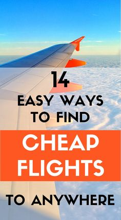 A mini-course in flight hacking with the best tips to find the cheapest flight possible to anywhere in the world. Are you ready to save some money? #traveltips #travelhacks #travelblogs