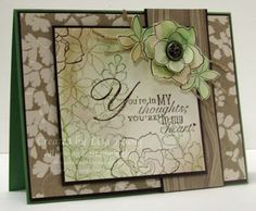 Growing Green by genesis - Cards and Paper Crafts at Splitcoaststampers