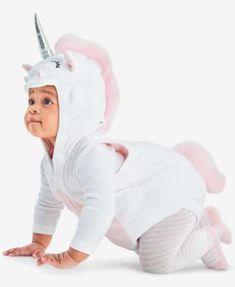 Carter's Baby Girls' 3-Pc. Halloween Unicorn Costume | macys.com