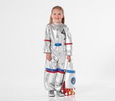 Pottery Barn Kids Toddler Light Up Astronaut Costume