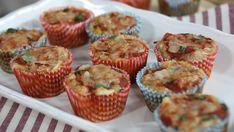 Hawaiian pizza muffins