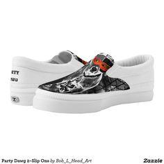 Party Dawg 2~Slip Ons Slip-On Sneakers