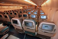 Airbus A380: interior airliner aircraft image
