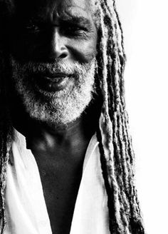 Bob Andy- is a Jamaican reggae vocalist and songwriter. He is widely regarded as one of reggae's most influential songwriters. He also one of the founding members of The Paragons, along with Tyrone Evans and Howard Barrett. Dreads, Black Is Beautiful, Gorgeous Men, Reggae Artists, We Are The World, Bronze, Portrait, Black Hair, Grey Hair