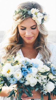 Light Blue Flowers, Turquoise Flowers, Flower Lights, Orange Flowers, Aster Flower, Anemone Flower, Hydrangea Flower, Wedding Orange, Wedding Colors