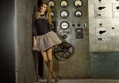 Amazing Ysabel Mora collection. Spanish hosiery company Ysabel Mora designed an amazing Autumn-Winter collection of...http://tights.fun/amazing-ysabel-mora-collection/