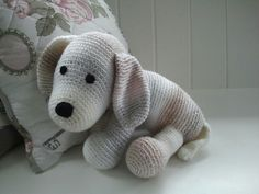 Gehaakte hond / crochet cute dog