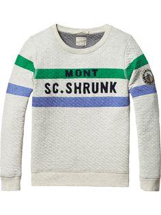 Gebonden sweater