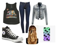 """Untitled #17"" by jessika-adams on Polyvore featuring beauty, Billabong, Frame Denim, Converse, Natasha Accessories and LE3NO"
