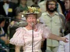 Minnie Pearl performs at Grand Ole Opry House opening night 1974