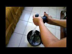 Como deixar seu chão e azulejos e com um brilho incrível e ainda economizar água - YouTube