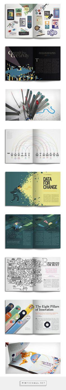 Editorial Design Inspiration: Google Think Quartely | Abduzeedo Design Inspiration - created via http://pinthemall.net