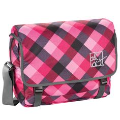 All Out Schultertasche Barnsley Diamond Check
