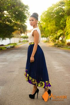 African fashion is available in a wide range of style and design. Whether it is men African fashion or women African fashion, you will notice. African Dresses For Women, African Print Dresses, African Attire, African Wear, African Women, African Prints, African Style, African Skirt, Ankara Skirt