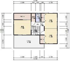 畳コーナーのある家   理想の間取り Diagram, Floor Plans, House Decorations, Floor Plan Drawing, House Floor Plans
