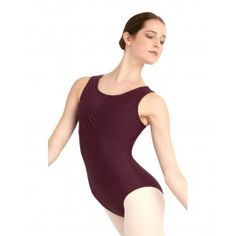 More leotards! Similar to the West Side leotard (the other one I pinned) but this one is a different neckline and doesn't have the open back. It also comes in a wider variety of colours; besides this one, it comes in pink, two different shades of blue, grey, and black.