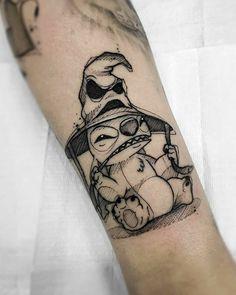 Skull Tattoos, Leg Tattoos, Black Tattoos, Body Art Tattoos, Tattoos For Guys, Sleeve Tattoos, Tattoos For Women, Cool Tattoos, Movie Tattoos