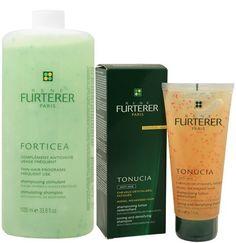 Rene Furterer Forticea Big Shampoo & Tonucia Small Shampoo Set by Rene Furterer. $90.50. Rene Furterer Forticea Shampoo. Rene Furterer Tonucia Shampoo. Rene Furterer Forticea Stimulating Shampoo 33.8oz  Rene Furterer Tonucia Toning Shampoo 5.07oz Shampoo And Conditioner, Hair Care, Hair Beauty, Personal Care, Self Care, Personal Hygiene, Hair Care Tips, Hair Makeup