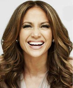 Jennifer Lopez Long Wavy Formal Hairstyle - Brunette Hair Color with Dark Blonde. Jennifer Lopez L Formal Hairstyles, Celebrity Hairstyles, Easy Hairstyles, Hairstyle Images, Jennifer Lopez, Hair Styles 2014, Long Hair Styles, Pelo Formal, Dark Blonde Highlights